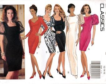 Butterick 5849 Misses' Dress Sewing Pattern - Uncut - Size 12, 14, 16