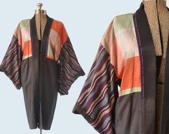 Silk and Cotton Kimono