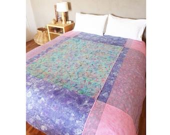 Batik Cotton Duvet, Queen Bedding Handmade, Duvet Cotton Bedding, Batik Queen Duvet