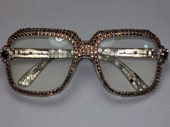 Custom Gold Eyeglass Frames : Items similar to Cazal Style Custom Glasses with Gold ...