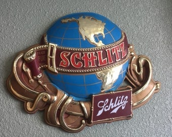 Custom Made Schlitz Beer Sign