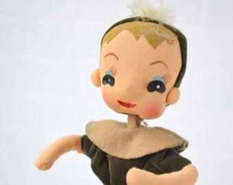 1960s Nursery Rhyme Pose Doll