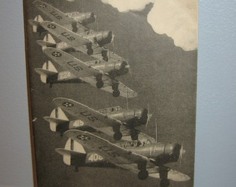 Wings of the World Aeronautics Council Inc 1940 Photos Specs Performance Charts 64 Pages w/Soft Cover