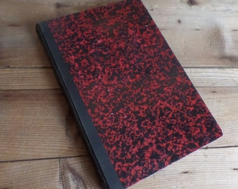 Large french account journal  hand written 1940