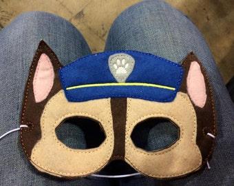 Chase mask, costume mask