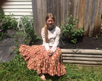 Handmade tiered skirt size 12-14