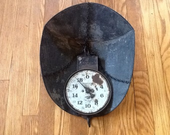 Antique Hanging Scale Hanson 20lb Early 1900's General Store