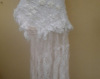 "20%OFF bohemian gypsy wedding formal burlesque bustle belt..44"" across plus ties..."