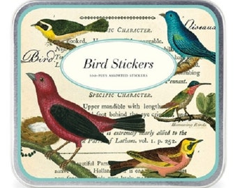 Cavallini Co. Birds Sticker Set NIB