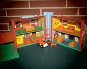 13pc. Little People Home Furnishings - Lot 1 of 2.