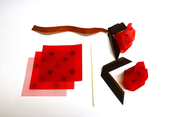 Origami Flower Kit Make Your Own Geometric Origami
