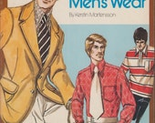 "Sewing Book ""It's Easy to Sew Menswear"" by Kerstin Martensson How to Sew Knit Fabric & Men's Clothing"