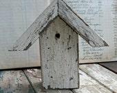 Vintage Picket Birdhouse - Assemblage, Mixed Media, Altered Art