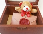 Gift for girlfriend, Long distance gift idea, Personalized birthday gift for her. Treasure box of Love