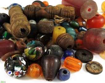 Tibetan Beads Grab Bag 4 Oz. 88044
