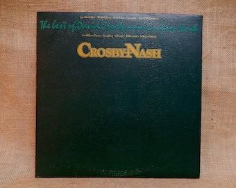 Crosby & Nash - The Best of David Crosby and Graham Nash - 1978 Vintage Vinyl Record Album