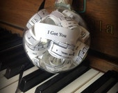 Your Wedding Song-Custom Ornament-First Dance-Love Song-FREE Shipping