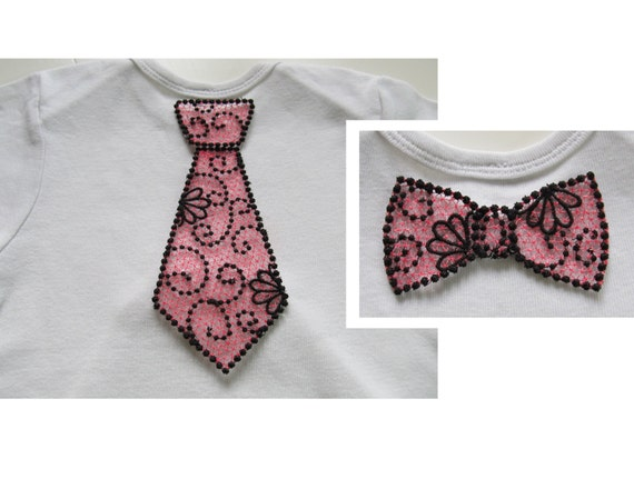 lace or boy bow tie and tie fsl free