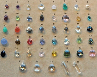 Customized, Personalized, Silver OR Gold Wrapped Gemstone Briolettes, Add on Gemstones, Customize your Necklace, Bracelet, Earrings