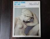 Vintage French Large Paperback Art Reference Magazines Sculptures Maillol Chefs-D'Oeuvre De L'Art circa 1969 / English Shop