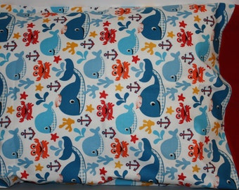 Toddler/Travel Pillowcase  or Standard Size