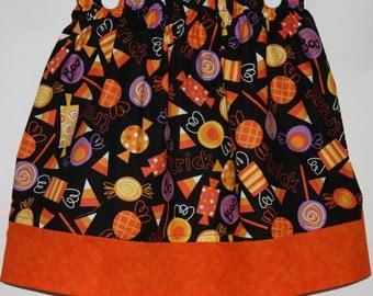 Trick or Treat Skirt    Size 2 to 8