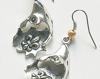 New Orleans Oyster Earrings