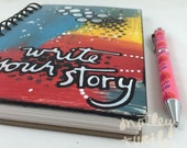 """Write Your Story Lined Journal; 5""""x7.5"""""""