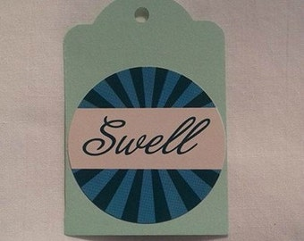 Swell Gift Tag Set of 3