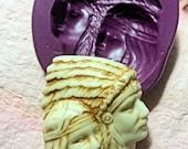 Native couple  flexible silicone mold / mould