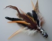 Cat Toy Large Size Cheetah Print Feather Flier with Catnip and Bell
