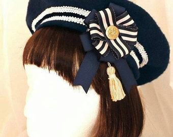Made to order: Navy Sailor Beret