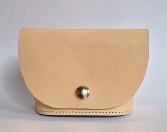 Coin purse leather - Free Shipping