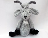 Crochet Goat SUPERSOFT