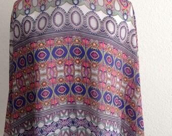 Sundos Egyptian Dream Print Chiffon Scarf Hijab