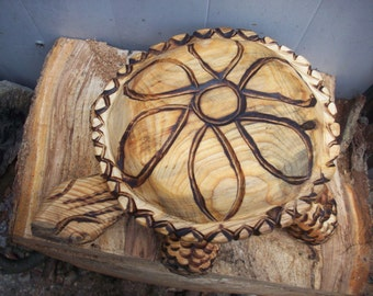 turtle candy dish made to order chainsaw carving bowl with lidd