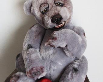 pizzly the grolar bear  artist bear oak   stuffed animals