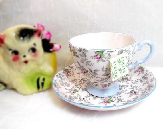 Vintage Tuscan Chintz Teacup