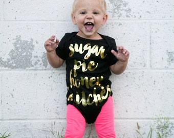 sugar pie honey britches - girls graphic one piece