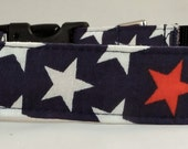 Dog Collar, Martingale Collar, Cat Collar - All Sizes - Stars