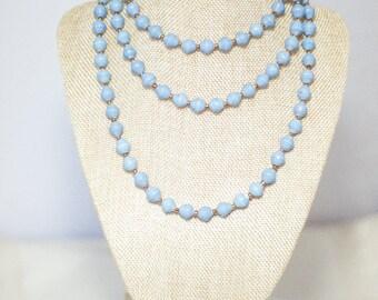 SALE Minaazi Necklace -Icy Blue