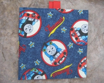 Thomas the Train - Reusable Sandwich/Snack Bag with easy open tabs
