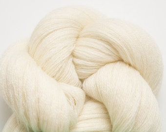 Cream Recycled Extra Fine Merino Weight Yarn, 3271 Yards Available