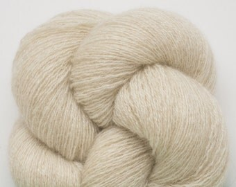 Beige Cashmere Yarn, Beach Sand Recycled Lace Weight Cashmere Yarn, 1566 Yards Available, Chamois,Tan, Beige, Ecru