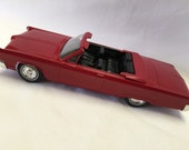 1967 Chysler 300 Convertible Promo Red Car Very RARE 1/24th Scale