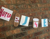 NURSES RN party banner,party banner for nurses, fun healthcare party banner, nurse name banner, fun nurse party decorations, Doctor banner