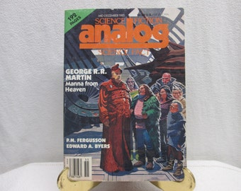 Analog Science Fiction Science Fact, December 1985 Paperback book magazine