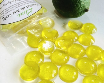 LIME, Essential Oil Hard Candy, 5oz