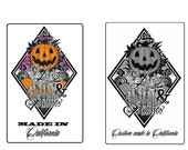 Special listing for Kenny Avila--3 sheets sew on labels--seam allowance on top--1 x 1.25 size