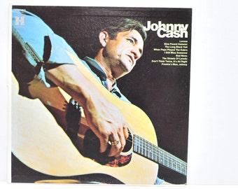 Johnny Cash  Record Album